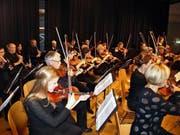 Der Orchesterverein Nidwalden trat im Pestalozzi-Saal auf. (Bild: Kurt Liembd (Stans, 5. November 2016))