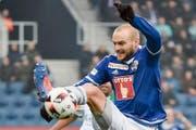 Zwei Pfostenschüsse und Lattentreffer: Bei Marco Schneuwly wollte der Ball zuletzt nicht rein. (Bild: Freshfocus/Martin Meienberger (Luzern, 23. 10. 2016))