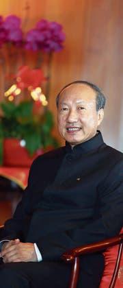 Cheng Feng, Gründer und Verwaltungsratspräsident des mächtigen chinesischen Firmenkonglomerats HNA Group. (Bild: Gao Lin (Haikou City, 27. August 2015))