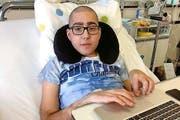Fabio Paco (17) aus Stans ist dringend auf einen geeigneten Spender angewiesen (Bild: PD)