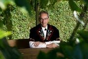 Emil Wallimann ist der Jury-Obmann am Zentralschweizer Jodlerfest in Sarnen. (Bild: Corinne Glanzmann / Neue LZ)