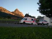 Der Unfall ereignete sich um zirka 20.30 Uhr. (Bild: Geri Holdener, Bote der Urschweiz)