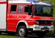 Die Feuerwehr Stützpunkt Schwyz war rasch vort Ort. (Archivbild)