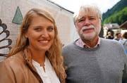 Denise Feierabend und Geny Hess. (Bild: Romano Cuonz (Engelberg, 15. Juli 2017))
