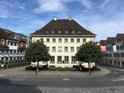Das Regierungsgebäude am Dorfplatz 2 in Stans. (Bild: PD)
