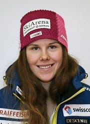 Aline Danioth gewinnt erstmals ein Europacup-Rennen. (Bild: Philipp Zurfluh (Altdorf, 22. 12. 2017))