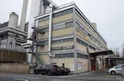 In diesem Gebäude bei der Buchser KVA trafen sich die Staats- verweigerer. (Bild: Hanspeter Thurnherr)