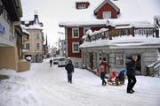 Andermatt und das Urserntal haben vom Bau des neuen Tourismusresorts profitiert. (Bild Urs Hanhart)