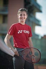 Scheidet topgesetzt im U18-Halbfinal aus: Kristina Milenkovic (Bild: Pius Amrein (Schenkon, 6. April 2017))
