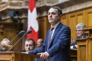 Er ist neuer Bundesrat: Ignazio Cassis. (Bild: Keystone)
