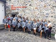 Die 23 Albanerinnen waren vergangene Woche in Bürglen unterwegs. (Bild: PD (Bürglen, 24. November 2016))