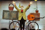 Die Bühne war seine Heimat, nun hat er sie für immer verlassen: Clown Dimitri ist gestorben. (Bild: EPA)
