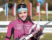 Flavia Barmettler: gute Laufleistungen, mässiges Schiessen. (Bild: PD)