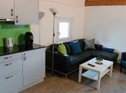 So sieht die frisch renovierte Wohnküche im Frauenbereich des Murimoos aus. (Bild: PD)