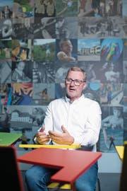Thomas Dietziker ist der neue Vereinspräsident. (Bild: Maria Schmid (Baar, 6. Juli 2017))