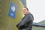 FCL-Sportkoordinator Remo Meyer bleibt realistisch: «Die ersten fünf Spiele waren nicht einfach und ein harter Kampf.» (Bild: Dominik Wunderli (Luzern, 25. Januar 2018))