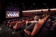 Blick ins Kino Bourbaki 1 in Luzern. (Bild: Pius Amrein (Luzern, 17. März 2017))