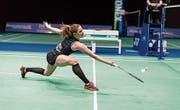 Begann vor 15 Jahren mit Badminton: die heute 25-jährige Ayla Huser aus Buochs. (Bild: PD ()