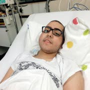 Seit drei Monaten im Spital: Fabio Paco (17) wünscht sich nichts sehnlicher als einen geeigneten Blutstammzellenspender. (Bild: PD)