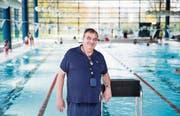 Das Wasser ist Axel Mitbauers liebstes Element. Vor 48 Jahren hat es ihm den Weg in die Freiheit ermöglicht. (Bild: Manuela Jans-Koch (Emmen, 9. November 2017))