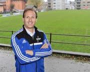 Der Urner Beat Dittli ist der höchste Innerschweizer Schiedsrichter.Bild: Urs Hanhart (Altdorf, 25. Oktober 2016)