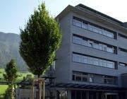 Das Kantonsspital in Stans. (Archivbild) (Bild: NEUE LZ/FABIAN BIASIO)