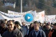 Am Freitag protestierten tausende Bauern gegen die Sparpläne des Bundes. (Bild: Keystone)