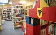 Vor allem das Angebot an Büchern, DVD und CD für Kinder wird rege genutzt. (Bild: Carmen Epp (Altdorf, 11. Juli 2017))