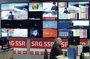 Die Geschäftsleitung von Wirtschaft Uri erwartet, dass die heutige SRG-Struktur nochmals deutlich verschlankt werden muss. (Bild: Keystone/Gaetan Bally)