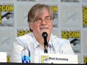 """Matt Groening, Schöpfer der """"Simpsons"""" erarbeitet für Netflix eine Serie, in deren Mittelpunkt eine versoffene Prinzessin steht. (Archivbild) (Bild: KEYSTONE/AP Invision/TONYA WISE)"""