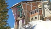 Soll zu einer Indoor-Spiel- und -Kletterwelt werden: alte Bergstation auf dem Ristis. (Bild: PD)
