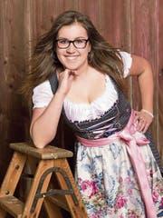 Schlagersängerin Denise wird am Friähligsfäscht auftreten. (Bild: PD)