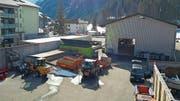 Mit zwei Bauvorhaben sollen auf dem Areal des Entsorgungshofs Wyden mehr Lagerkapazitäten geschaffen werden. (Bild: PD)