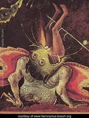 Schauriger Ausschnitt aus dem riesigen Gemälde «Das Jüngste Gericht» von Bosch. (Bild: PD)