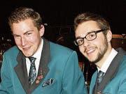 Fabian Wieland (links) und Michael Berchtold.