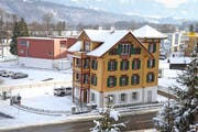 Das rund 150-jährige denkmalgeschützte Majorenhaus in Alpnachstad nach der Restauration. (Bilder Robert Hess)