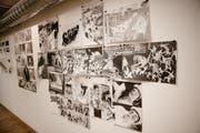 Ausgestellte Comics am Fumetto in Luzern. (Bild: Manuela Jans-Koch / Neue LZ)