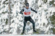 Roman Furger trainiert auf der Flüela-Loipe (Bild: Gian Ehrenzeller/Keystone (Davos, 9. November 2017))