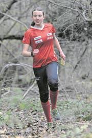 In der Natur fühlt sie sich am wohlsten, OL-Läuferin Deborah Stadler. (Bild: Urs Hanhart (Seedorf, 10. 11. 17))