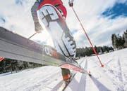 Für Langläuferinnen und Langläufer gibt es auch diese Saison eine Neuheit: Turnamic, ein neues Bindungssystem für Skating und Klassik, lanciert von den beiden Skiherstellern Rossignol und Fischer. (Bild: PD)