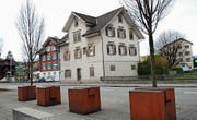 Das Gebäude an der Buochserstrasse 6 soll durch einen Neubau ersetzt werden. (Bild: Rosmarie Berlinger (Ennetbürgen, 29. März 2015))