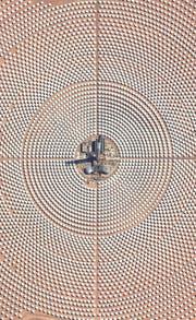 Satellitenbild des Ouarzazate-Solarkraftwerks in Marokko. (Bild: Getty (14. Oktober 2017))