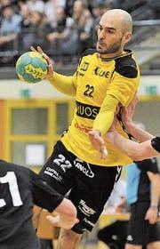 Erzielte in Stäfa 10 der 25 Altdorfer Treffer: Spielertrainer Mario Obad. (Bild: Urs Hanhart)