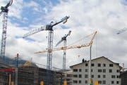 Baustelle im Kanton Uri. (Bild: Paul Gwerder)