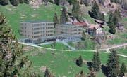 Der geplante Des-Alpes-Neubau auf Rigi Klösterli gibt zu reden. (Bild: Visualisierung: PD)