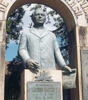 Dem Beckenrieder Theodor Amstad wurde in der Stadt Nova Petrópolis in Brasilien ein Denkmal errichtet. (Bild: PD)