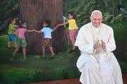 Der Papst wird dafür kritisiert, dass er in der Kinderschutzkommision keine Wechsel herbeiführt. (Symbolbild Keystone)