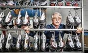Roger Lanz hat über Umwege zum Eishockey gefunden. Jetzt kann er sich kaum mehr davon trennen. (Bild: Patrick Hürlimann (Zug, 16. März 2018))
