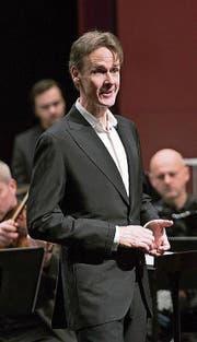 Ian Bostridge überzeugte im Theater Casino Zug. (Bild: Priska Ketterer/ Zuger Sinfonietta (8. Dezember 2017))