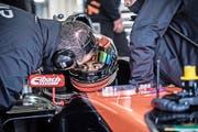Moritz Müller-Crepon im Cockpit des Formel-4-Boliden. (Bilder Franz Venzin)